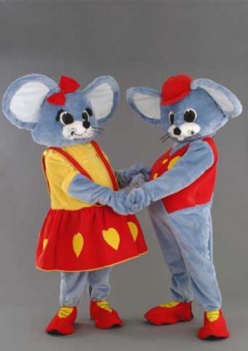 location mascotte : coupe de souris