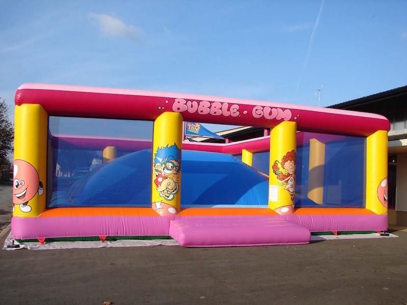 château gonflable  : Bubble Gum